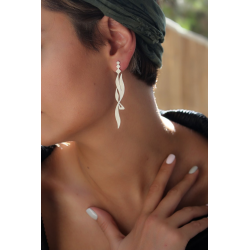 SHAMS 2 - Silver Earrings