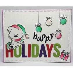 Happy Holidays Christmas Card