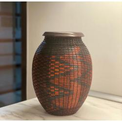 Basket İllusion Segmented Vase