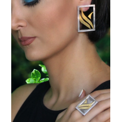 Freedom - Earrings and Ring Set