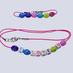 Alphabet Beads Bracelet