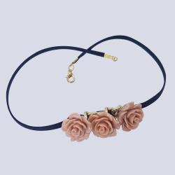 Resin Flower Necklace