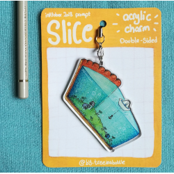 Slice - Acrylic Charm