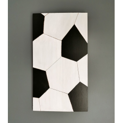 Football Wall Art - Boys Bedroom Decor