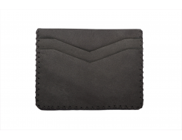 LAKE Charcoal Black Card Holder