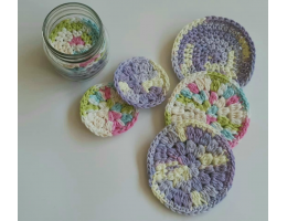 Crochet Scrubbies Set