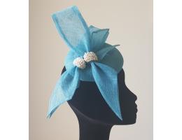 Freshwater Pearls Handbeaded Hat