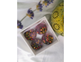 Lavender Scented Wax Tarts (4 Pieces Set)