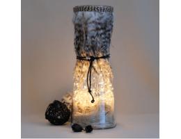 Rustic Bohemian Lamp