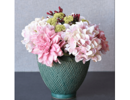 English Country Artificial Floral Arrangement
