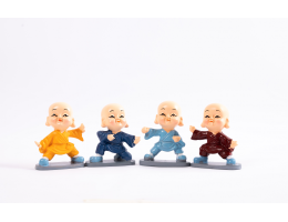 Karate Baby Monks