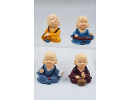 Musical Baby Monks (Set of 4)