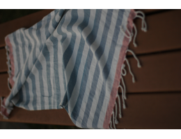 Hand Towels - Canopy Collection (Blue Stripes)
