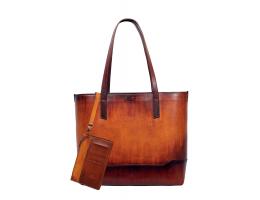 MARJAN Hazelnut Tote Bag