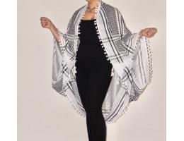Kimono Cover-Ups (Black/white)