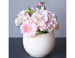 Hydrangea & Gerber Daisy Arrangement