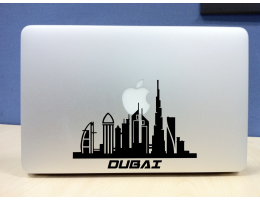 Unique Dubai Skyline Vinyl Decal/Sticker