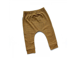 Ochre Grid Leggings