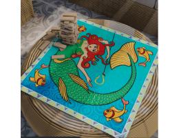 Table Cover Mermaid