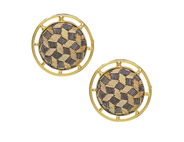 Zardosi Embroidery Earrings