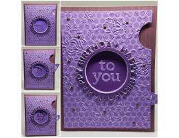Wheel Hidden Message Interactive Card