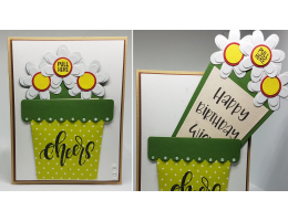 Pull Flower Message Card