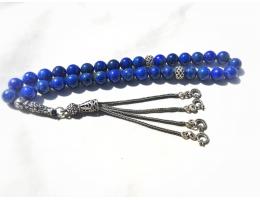 Lapis Lazuli Rosary 8mm AA Afghan Lapis Lazuli