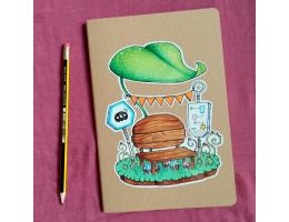 Bus Stop - A5 Notebook