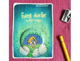 Forest Dweller - Button Badge