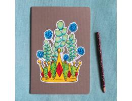 Fallen King - A5 Notebook