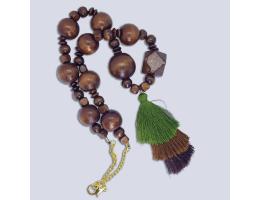 Wooden beads BOHO  Necklace