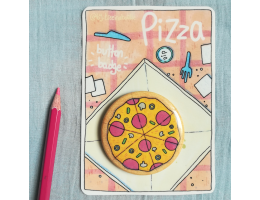 Pizza - Button Badge