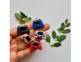 Polymer Clay Handmade Game Controller Charm