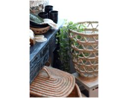 Handmade Palm Leaf Basket