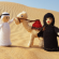 Arabic Couple and Camel