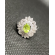 The Peridot silver ring