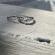 The mini crystal heart ring